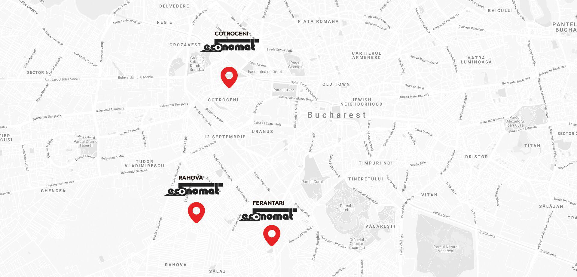 Economat map