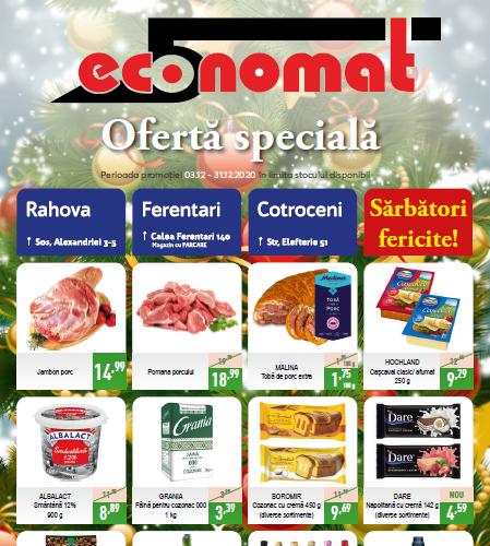 Economat flyer exemplu
